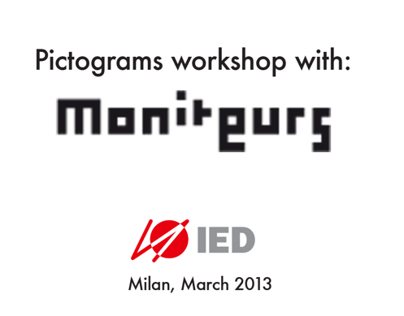 Pictograms Workshop