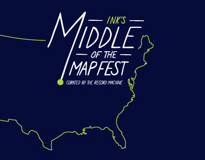 Middle of the Map Festival 2013 - Shirt