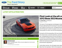 The Ford Story Redesign
