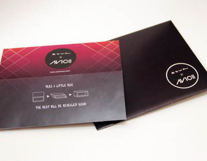 ZOUK x AVICII (Invitation Card)