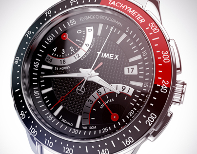 Timex. Intelligent Quartz™ Fly-Back Chronograph 2