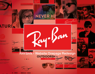 Ray Ban - New Look OnePage Website