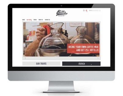 Responsive site // Bills Donuts