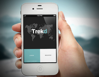 App | Trekd Concept