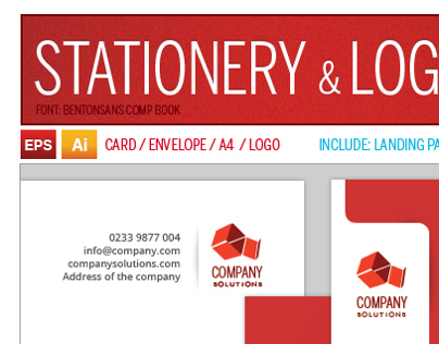 Stationery & Logo Pack