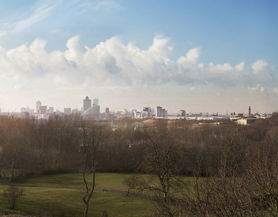 Manchester and Salford Skyline