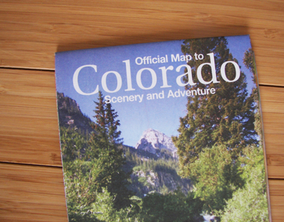 Official Map to Colorado Scenery and Adventure
