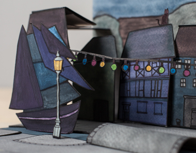 "Pop-Up Book ""Home"""