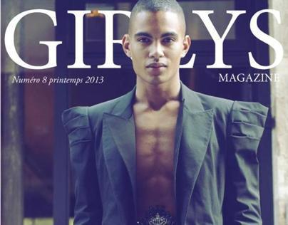 Fallen Hero Editorial, Girlys Magazine