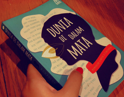Dunia di Dalam Mata | Book Cover + Illustration