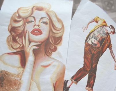 Marker Illustrations