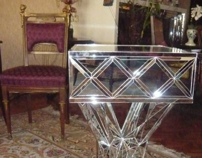 Mirror sidetable