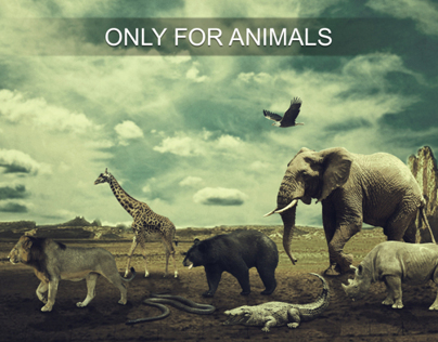 Only for animals !