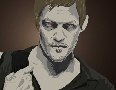 Vector Artist The Walking Dead