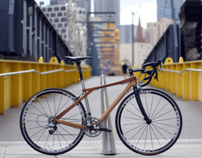 Wood bicycle Mark3