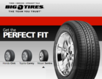 Big O Tires Web Replicator Flash Design