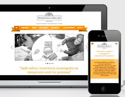 Residencia Berllor -  Identity & Web Design