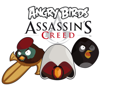 Angry Birds Assassin's Creed