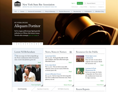 NYSBA Website Redesign