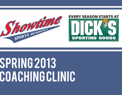 Showtime Sports Academy and Dicks Sporting Goods Camp