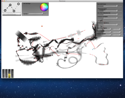 Biometric Drawing Tool