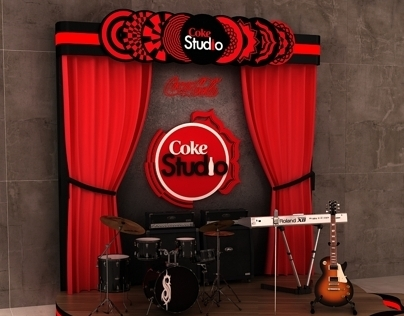 Coca Cola Zero Studio Booth & Stage