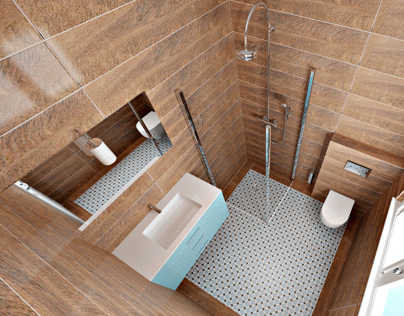 Bathroom Design and Visualizations