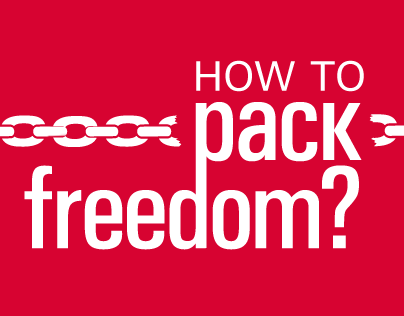 How to pack freedom?