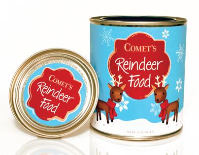 Comets Reindeer Food