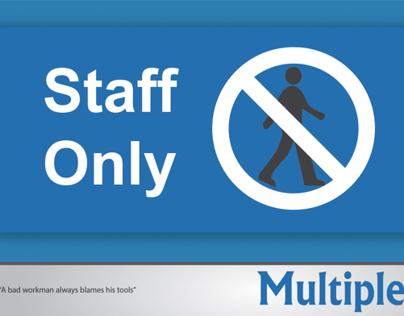 Multiples UAE Interior Signs
