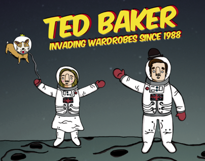 Ted Baker - Teds out of this world