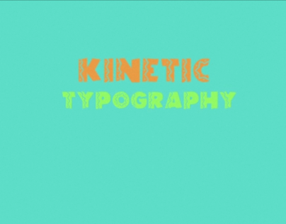 _KINETIC TYPOGRAPHY // Jump in the line