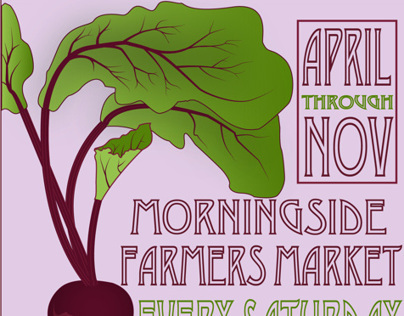 Advertisement for Morningside Farmers Market