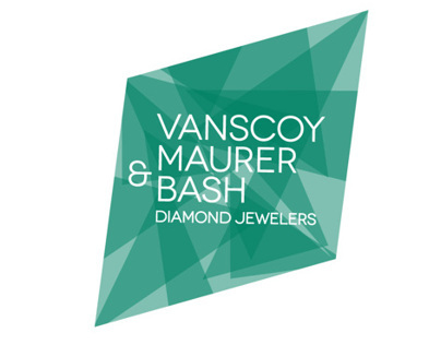 Vanscoy Maurer & Bash Diamond Jewelers Logo Design