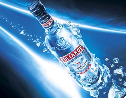 Vodka Poliakov _ advertising campaign since 2006