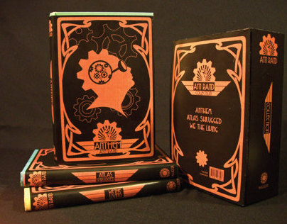 Ayn Rand Steampunk Book Box Set.