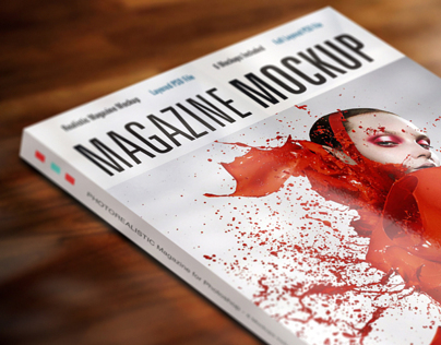 Realistic Magazine Mock-up
