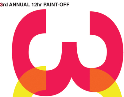 3rd Annual 12hr Paint-off