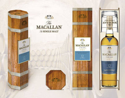Promo-pack design The Macallan