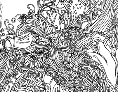 Intense Line Drawing