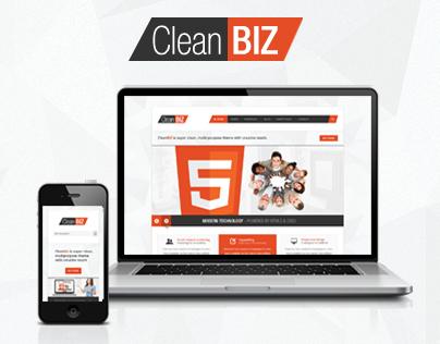 CleanBIZ - Multipurpose HTML5 Theme