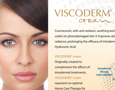 VISCODERM Cream Flyer