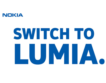 Nokia Lumia Branding, Out-of-home Advertising