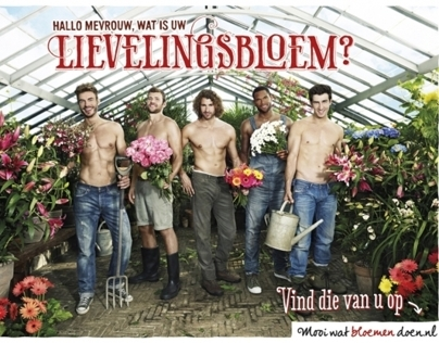 Three (international) campaigns for Bloemenbureau