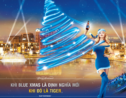 Tiger Beer - Blue Christmas 2011