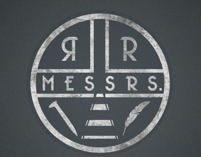MESSRS. R/R Brand Design/Logo