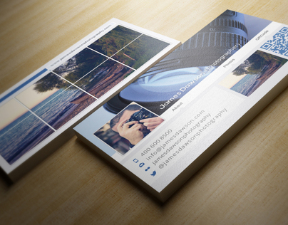 Facebook Timeline Business Card