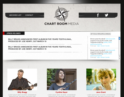 Web Design, Responsive Coding - Chart Room Media