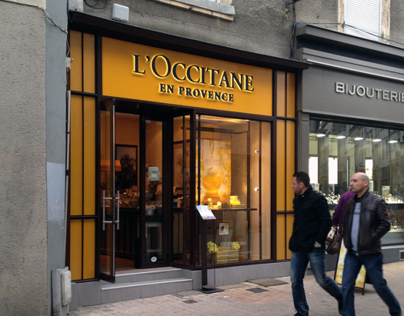 LOCCITANE - A cosmetic shop