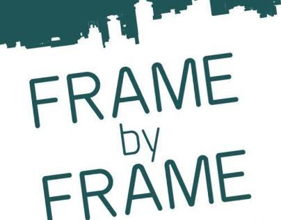 Frame by Frame Podcast page design